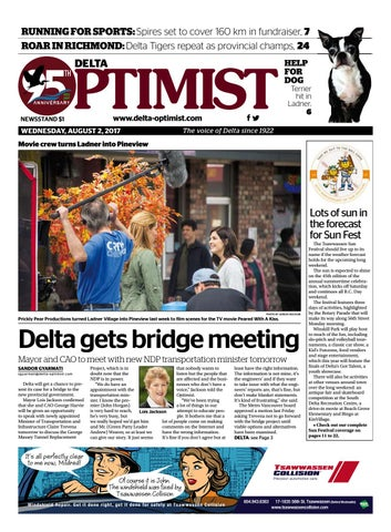 Delta Optimist August 2 2017