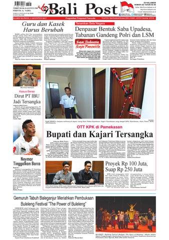 Edisi 03 Agustus 2017 Balipost Com By E Paper Kmb Issuu