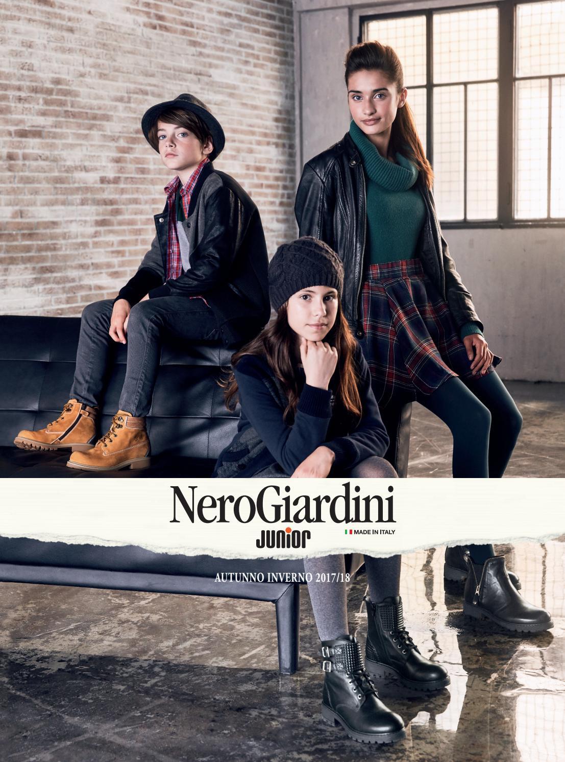 Catalogo Junior Autunno Inverno 2017 2018 by NeroGiardini