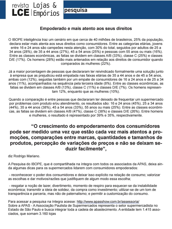 REVISTA LOJAS DE CONVENIÊNCIAS   EMPÓRIOS Ed 15 by Max Foods Comunicação  Empresarial e Editora - issuu 1df9023e0b