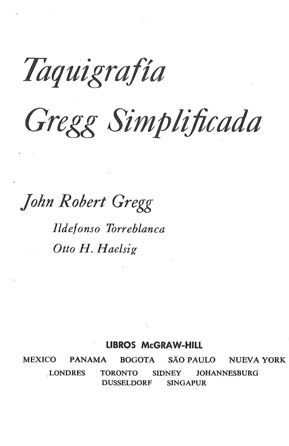 Taquigrafia gregg simplificada by Mario Edgar Nieto Velandia - issuu