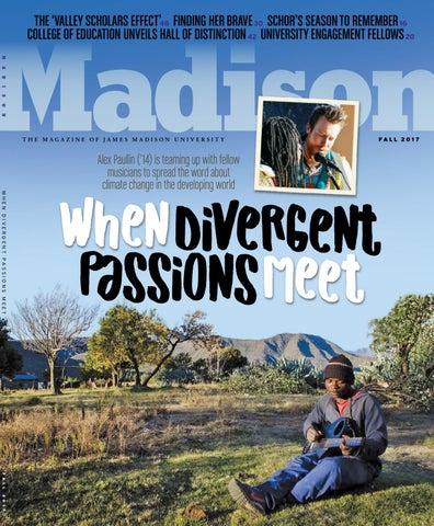 Skies Above Madison Put On Quite >> Madison Magazine Fall 2017 By James Madison University Issuu