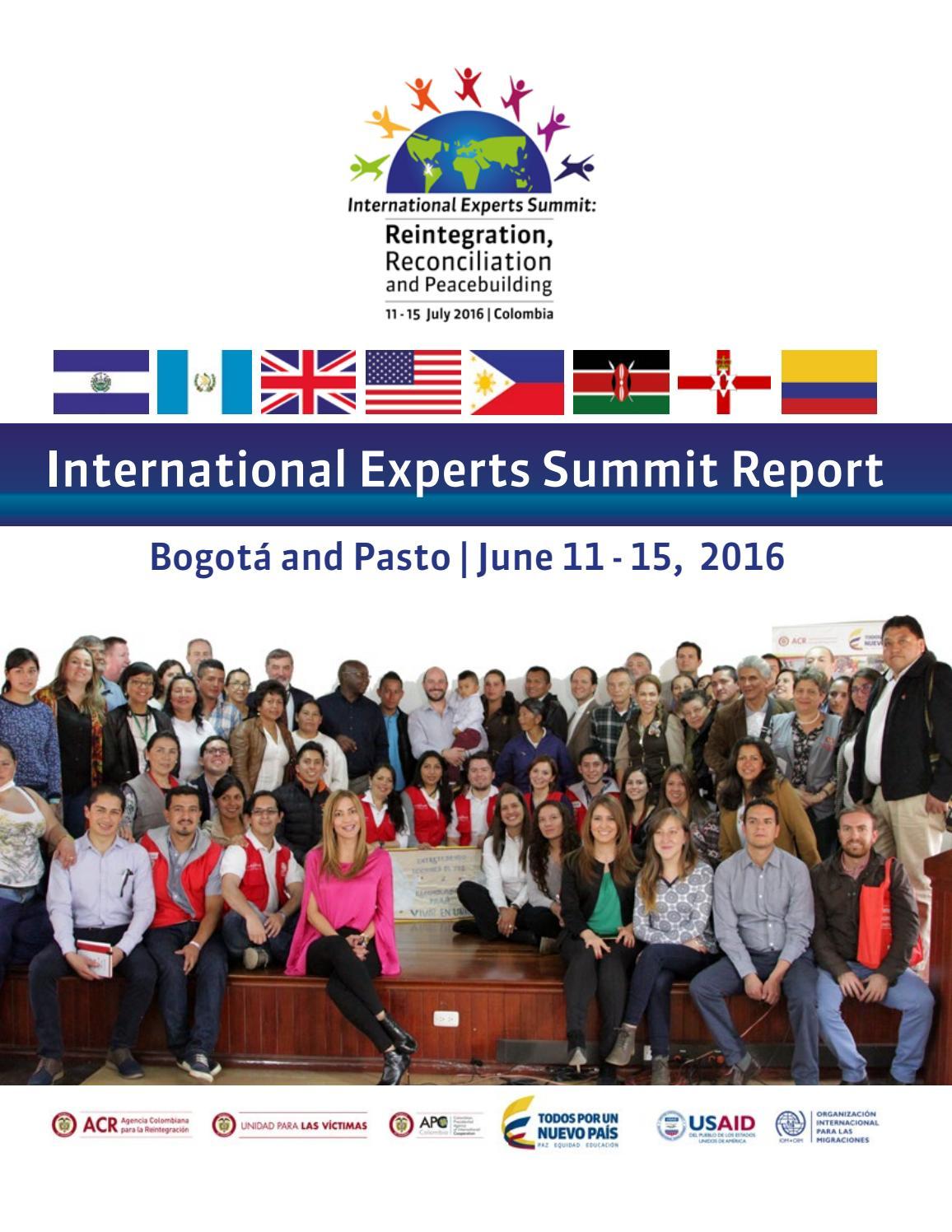 Aico Lombana international experts summit report 2016arn colombia - issuu