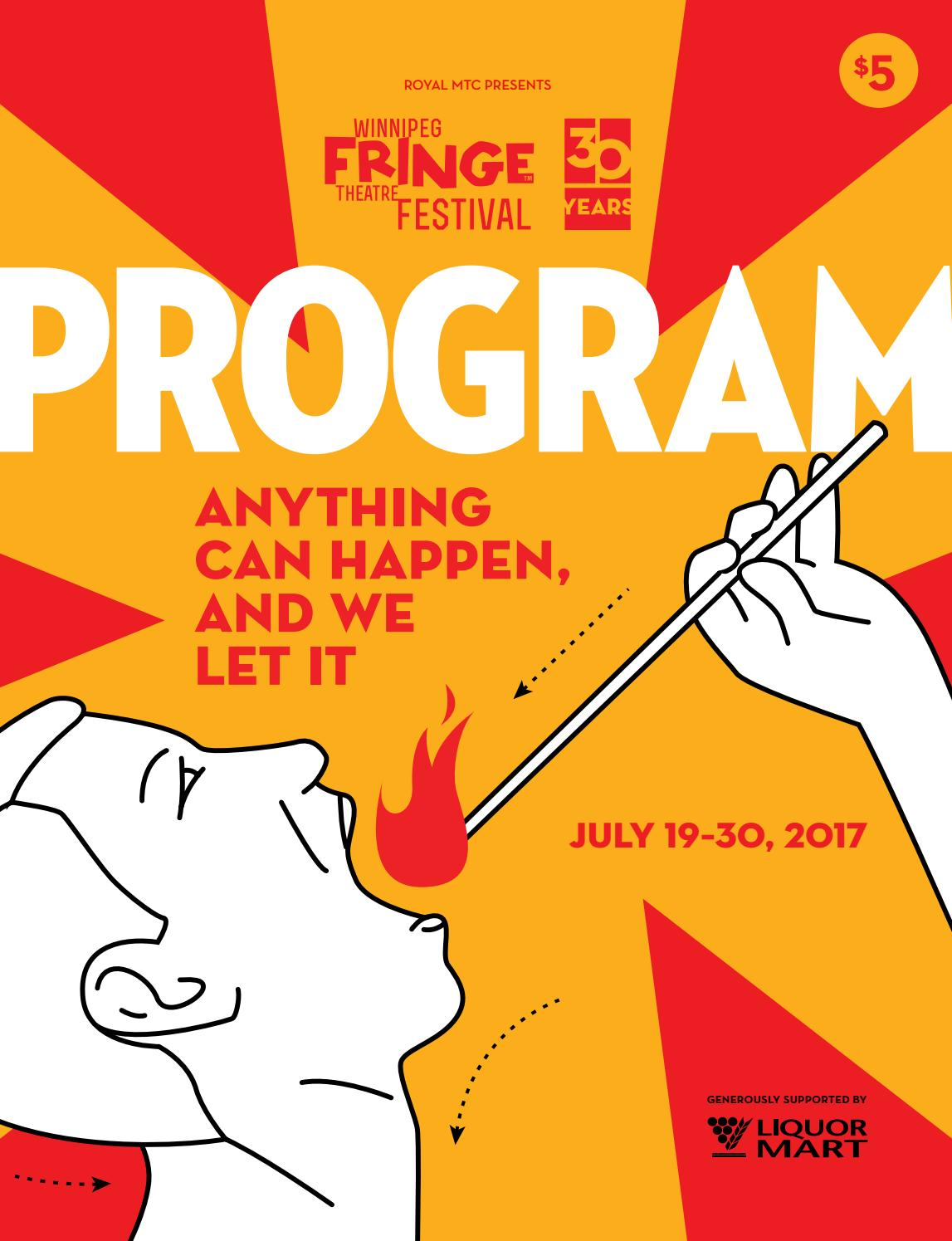 37bd8b976 Winnipeg Fringe Theatre Festival program guide 2017 by Royal Manitoba  Theatre Centre - issuu
