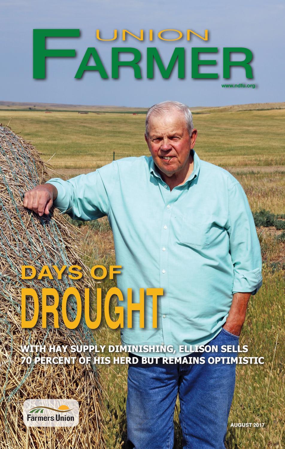 Union Farmer - August 2017 by North Dakota Farmers Union - issuu