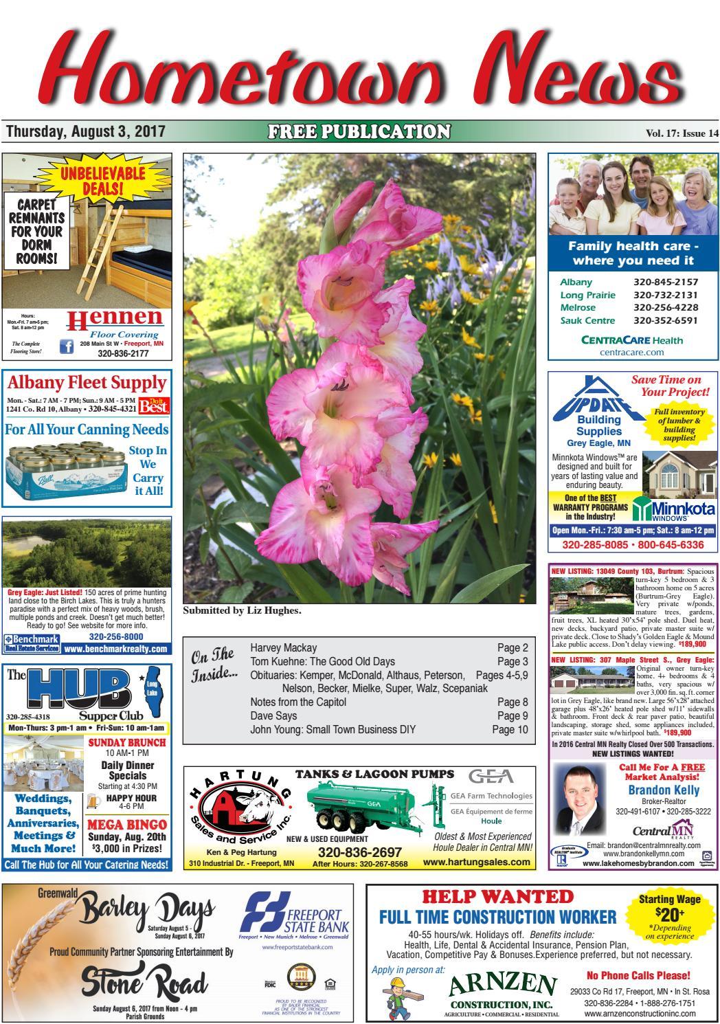 hometown news august 3 2017 by hometown news issuu