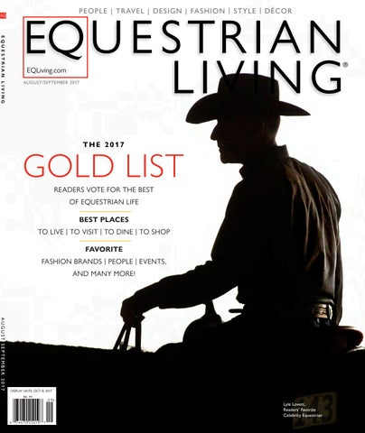 c471af3c770 August Sept 17 by Equestrian Living - issuu