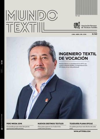 Mundo textil 140 by Asociación Peruana de Técnicos Textiles - issuu 88af4023412