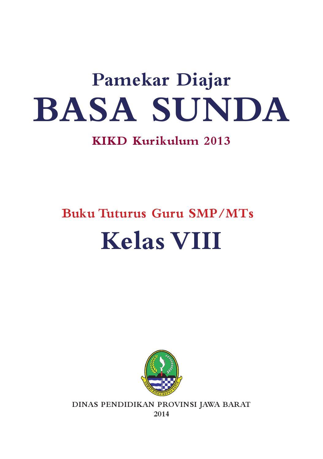 Kelas 08 Smp Basa Sunda Guru By P E Thea Issuu