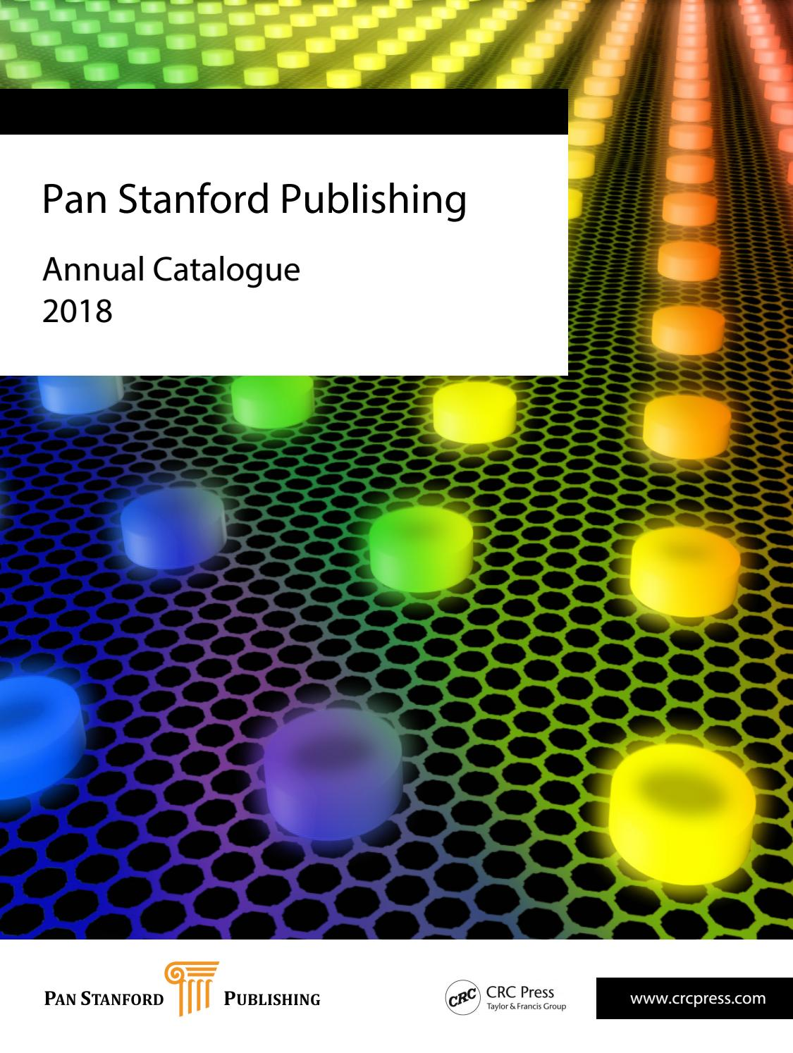 Pan Stanford Publishing Annual Catalogue 2018 By Owner Updated Wiring From Enrique Prati Diagrampdf Issuu