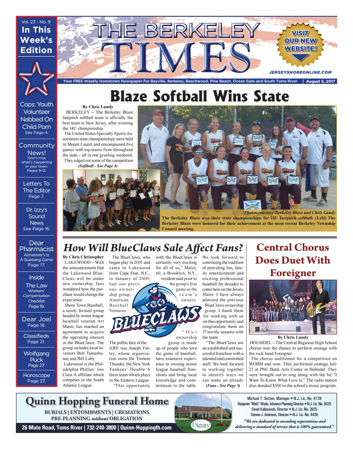 2017-08-05 - The Berkeley Times by Micromedia Publications