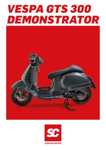vespa gts 300 tuning catalog english by scooter center. Black Bedroom Furniture Sets. Home Design Ideas