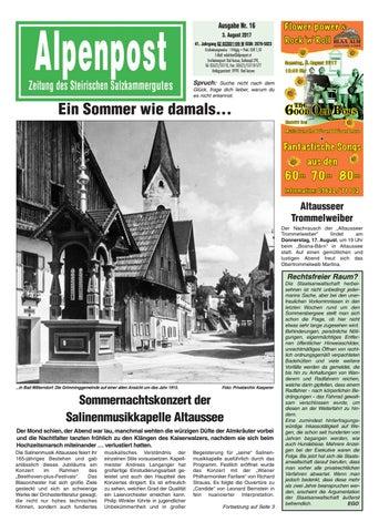 Alpenpost 16 2017 by Alpenpost Redaktion - issuu