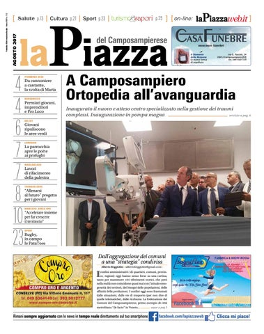 20c77a9833 Camposampierese ago2017 n112 by lapiazza give emotions - issuu