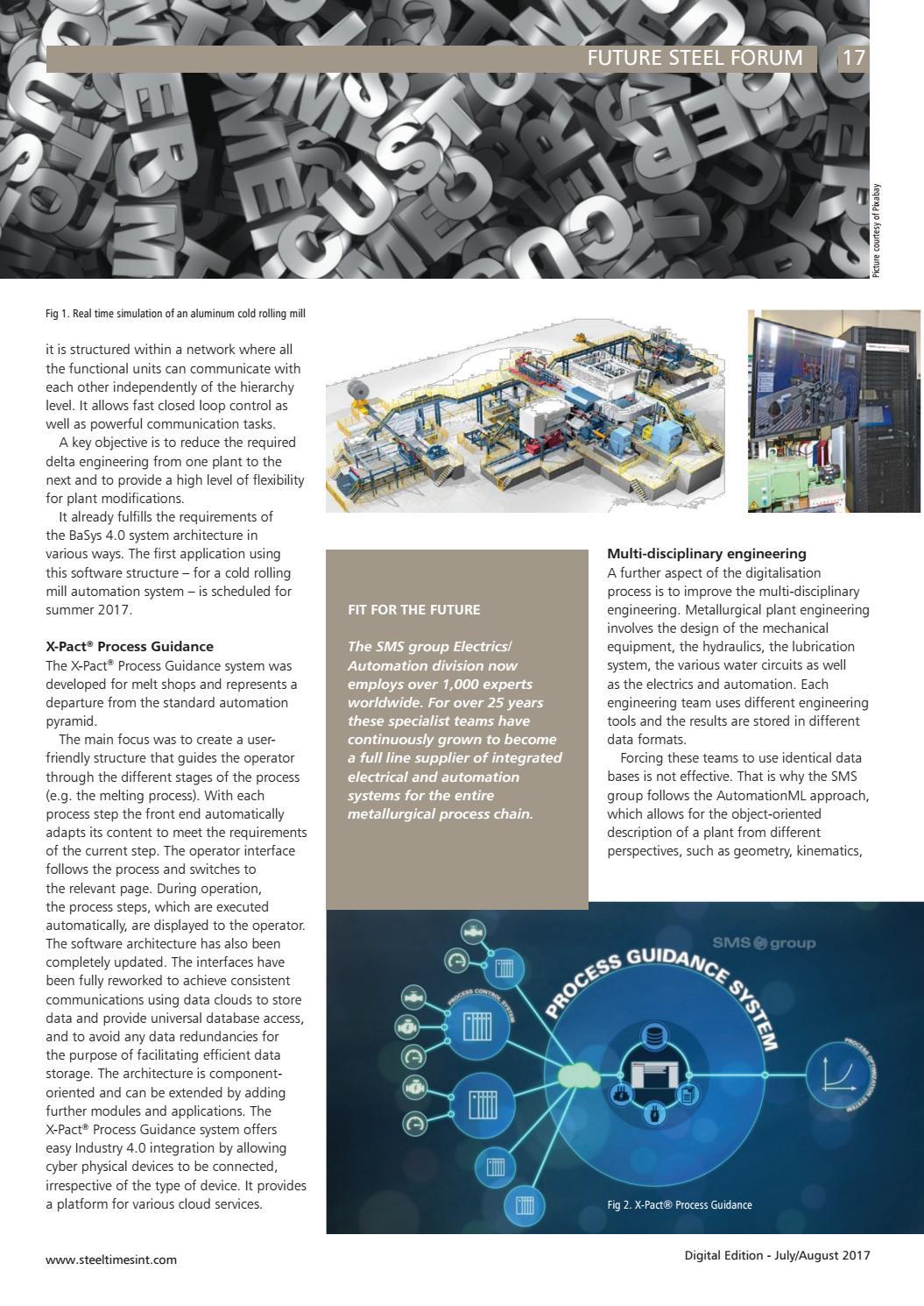 Steel Times International Digital July Aug 2017