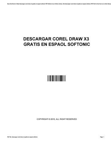 Descargar Corel Draw X3 Gratis En Espaol Softonic By Juanansari2203