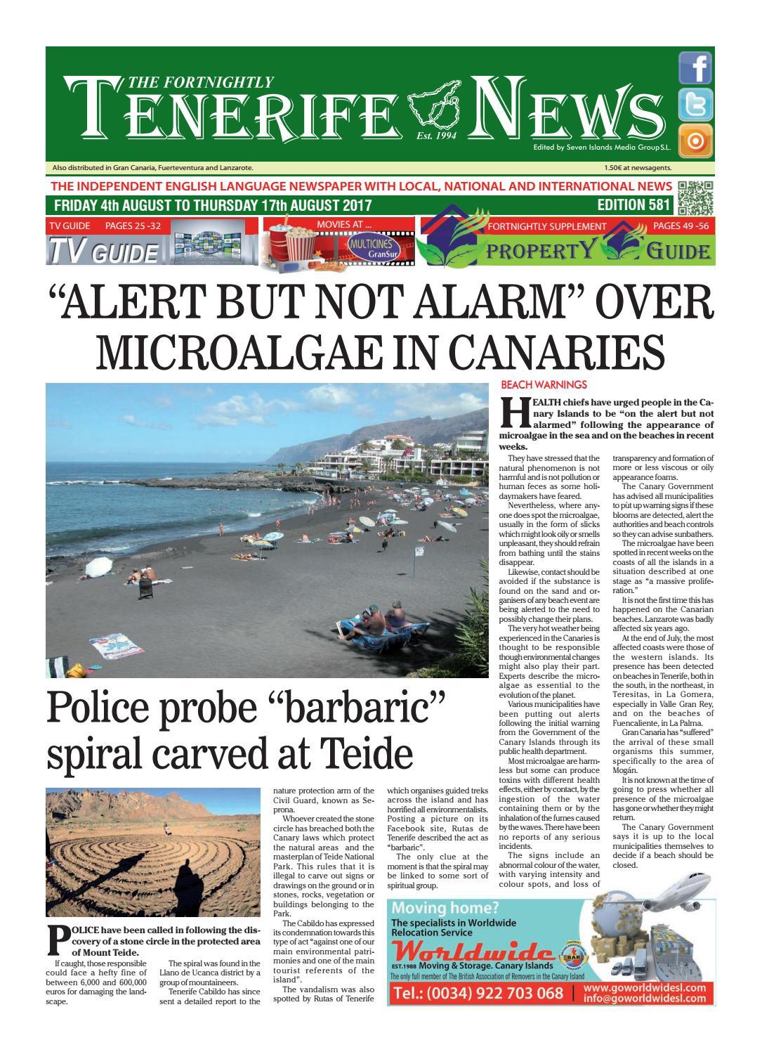Edition 581 By Tenerife News Issuu