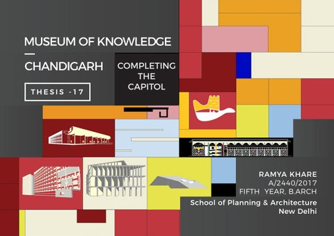 MUSEUM OF KNOWLEDGE CHANDIGARH THESIS -17