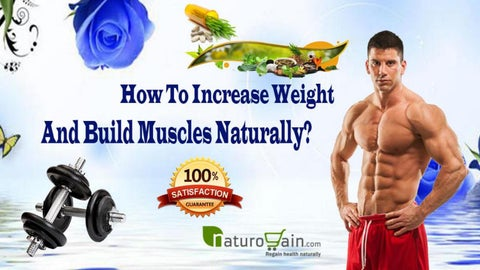 increase muscles naturally