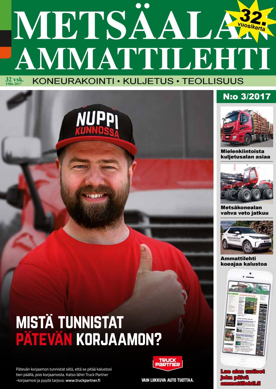 Metsäalan Ammattilehti 3 2017 - loppukesän jättilehti by Ammattilehti.fi -  issuu a7db47aa20