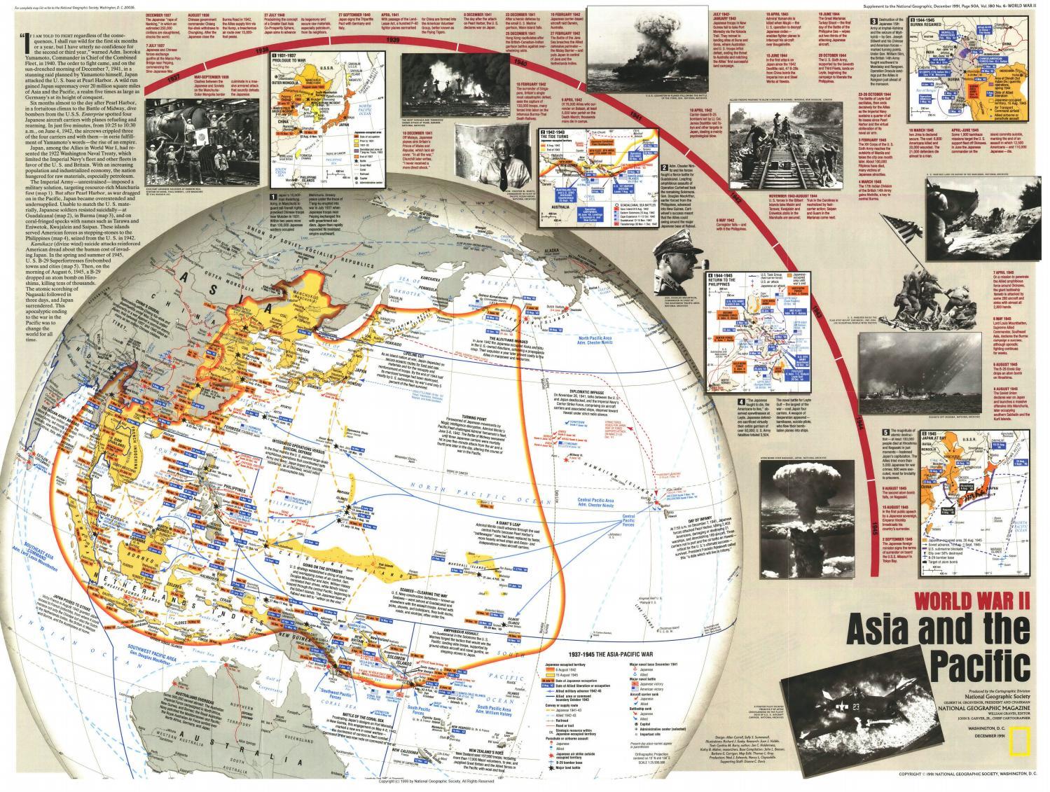 NG: World War iI: Asia and The Pacific (1991) by