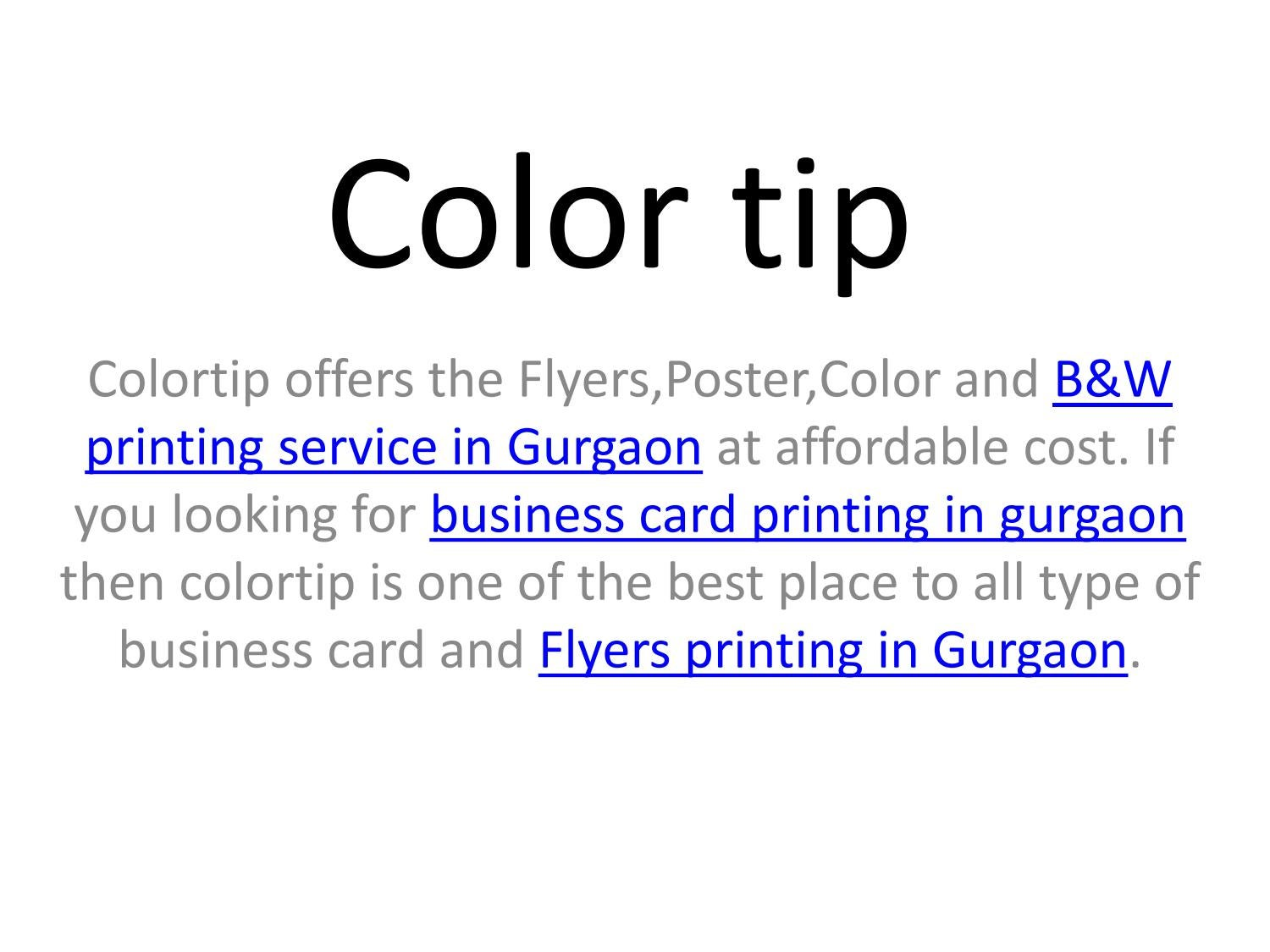 Flyers poster color bwbusiness card printing in gurgaon by flyers poster color bwbusiness card printing in gurgaon by bestvalue prints issuu reheart Images
