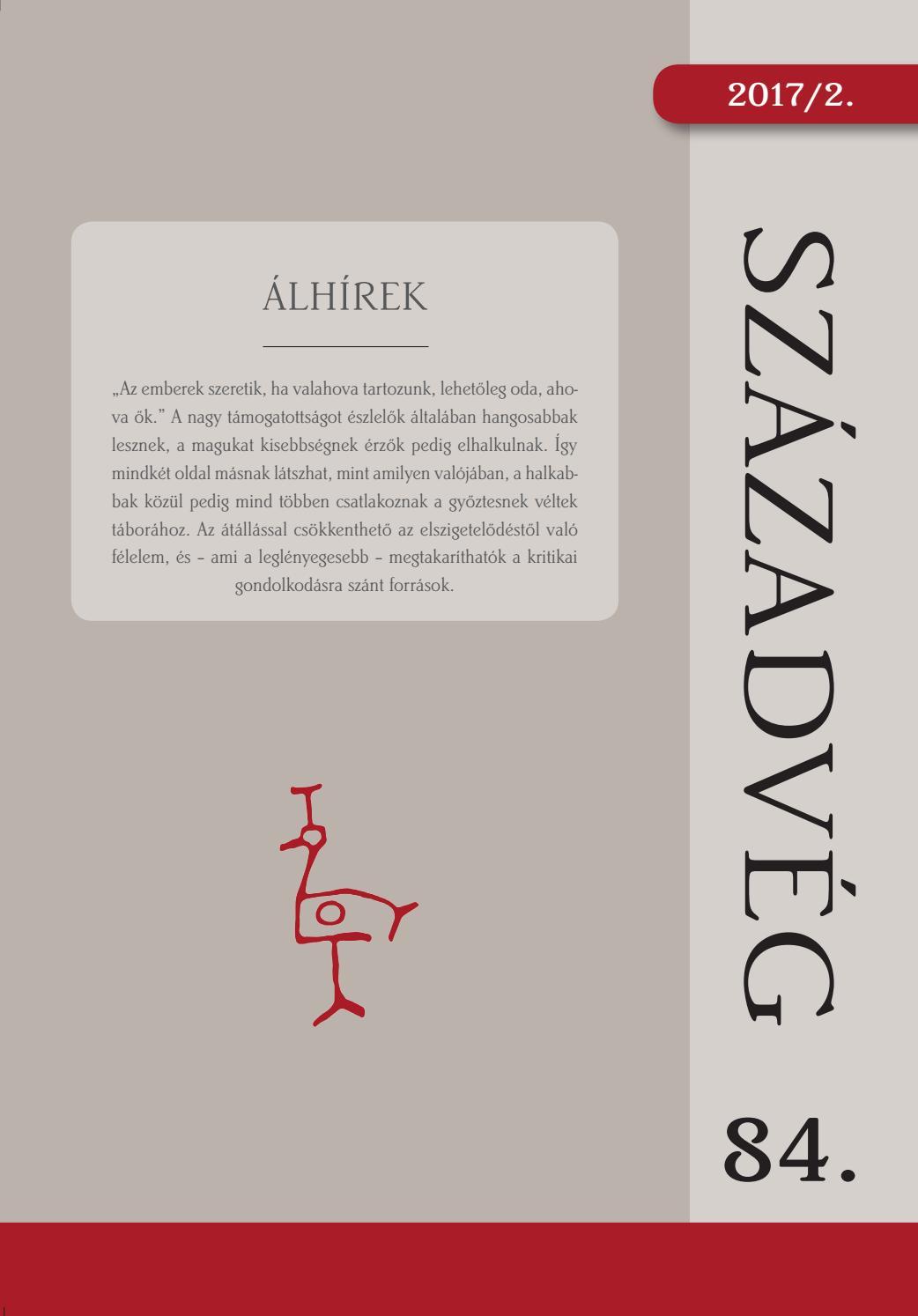 SZÁZADVÉG 84 ÁLHÍREK by SZÁZADVÉG - issuu bc23760c56