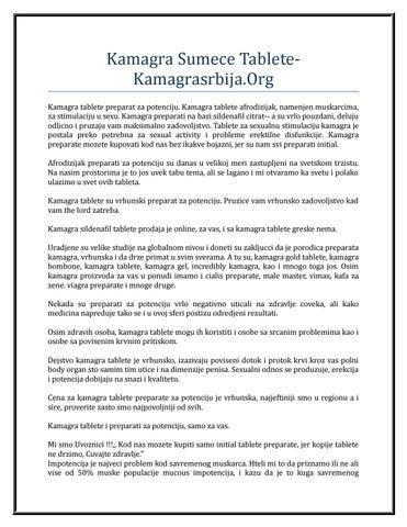 kamagra sumece tablete kamagrasrbija org by ricky anderson issuu