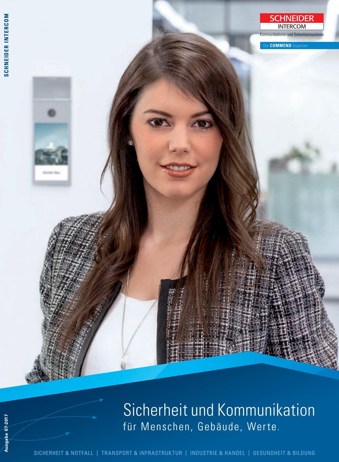 Schneider Intercom Produktkatalog 07-2017 by Commend International ...
