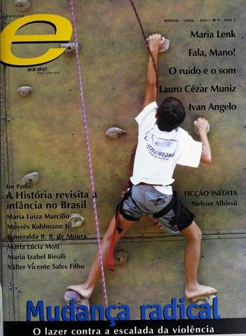 38afd0831f12c Revista E - Abril de 2001 - ANO 7 - Nº 9 by Sesc em São Paulo - issuu