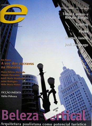 15f993052 Revista E - Janeiro de 2001 - ANO 7 - Nº 6 by Sesc em São Paulo - issuu