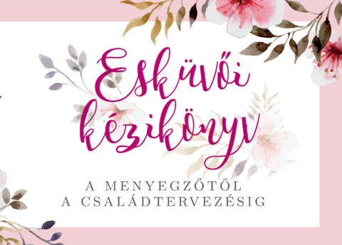 """Cover of """"Esküvői Kézikönyv Baranya"""""""