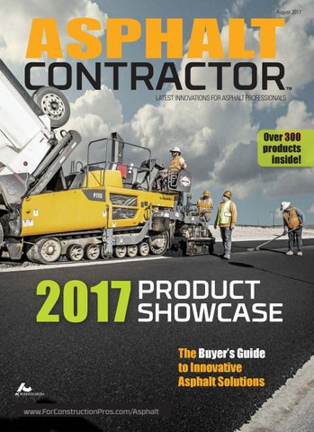 Asphalt Contractor August 2017 by ForConstructionPros com
