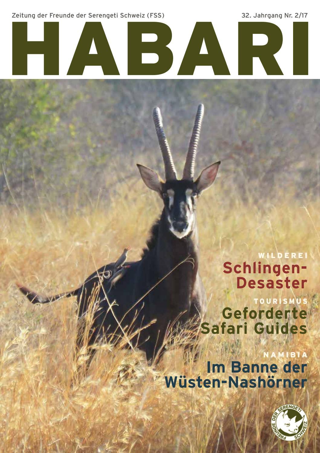 Habari 2/17 by Friends of Serengeti Switzerland (FSS) - issuu