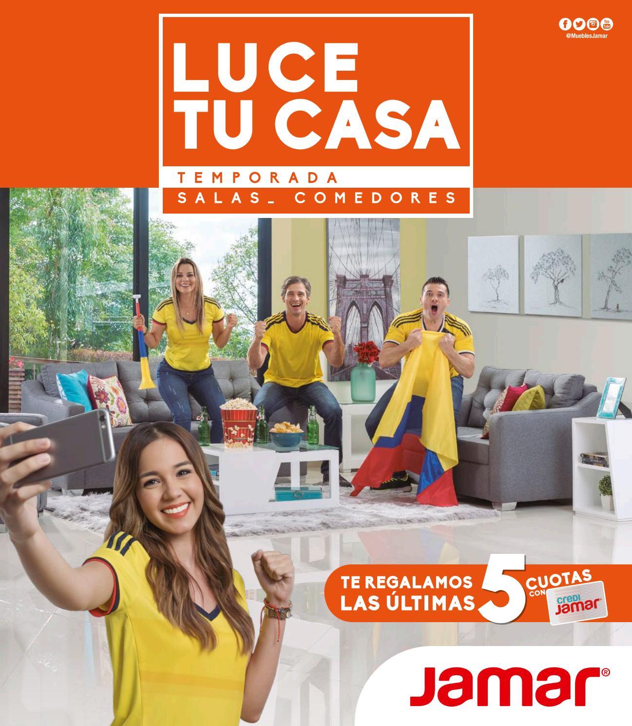 Cat Logo Luce Tu Casa Jamar Cartagena Santa Marta 2017 By Www  # Muebles Jamar Bucaramanga