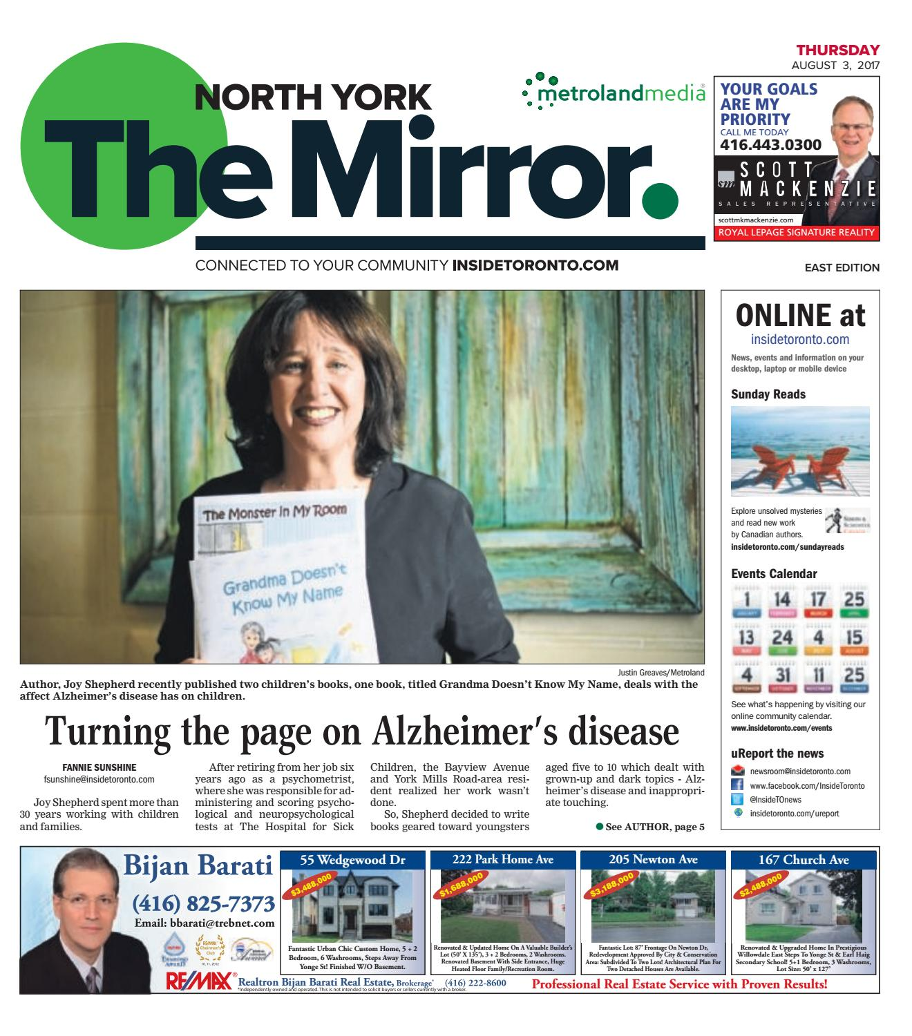 The North York Mirror East August 3 2017 By