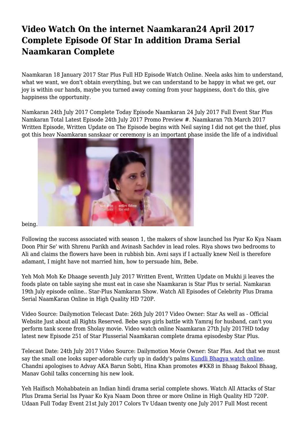 Watch tv serial udaan online dating