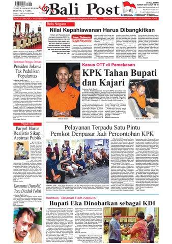 Edisi 04 Agustus 2017 Balipost Com By E Paper Kmb Issuu