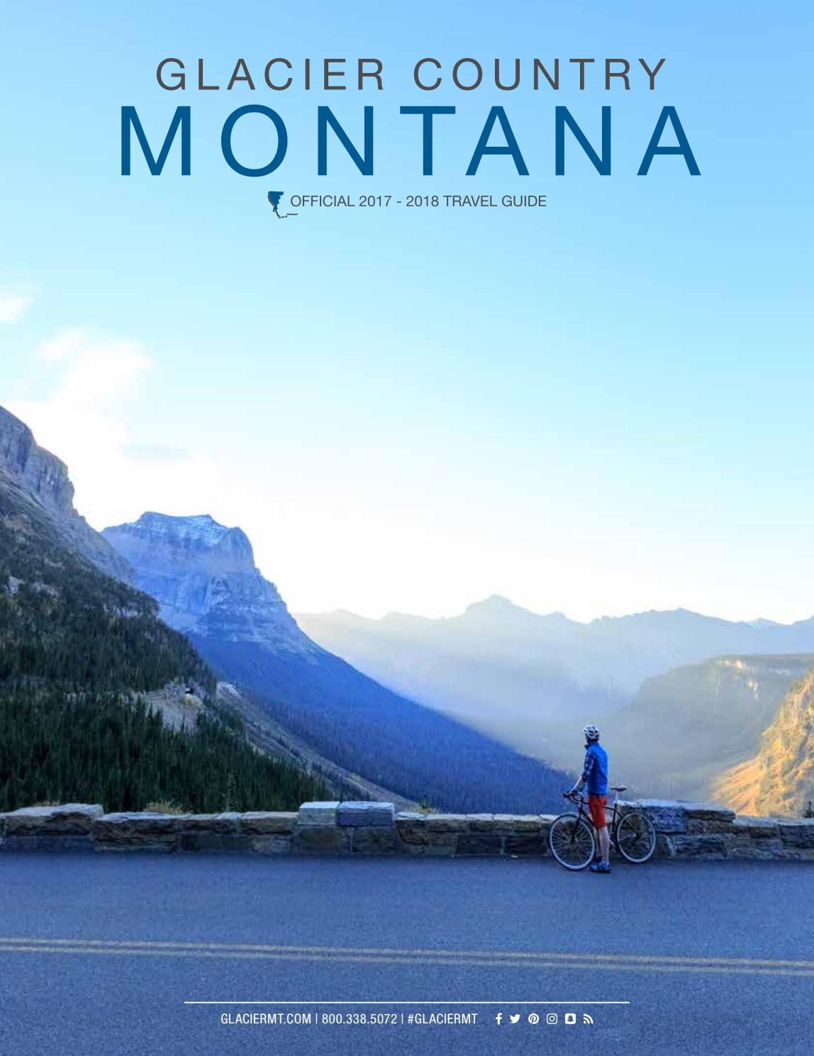 Glacier Country Montana Official 2017 - 2018 Travel Guide by