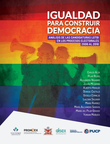 Igualdad para construir democracia by Promsex - issuu