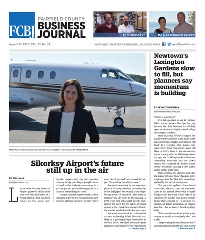 Fairfield County Business Journal 08072017 By Wag Magazine