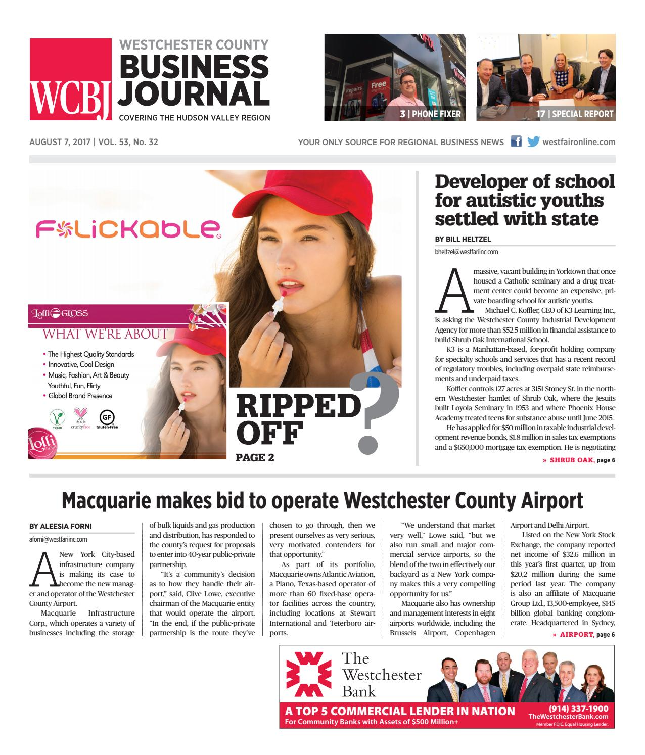 Westchester County Business Journal 080717 by Wag Magazine - issuu