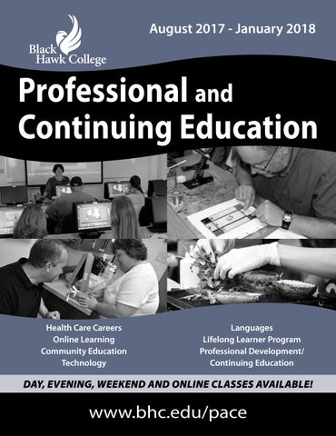 Professional and continuing education spring 2016 by black hawk pace schedule fandeluxe Image collections
