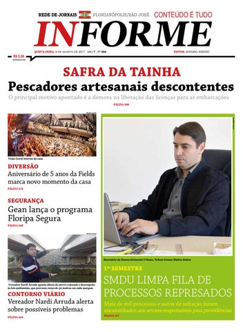 Jornal Informe Grande Florianópolis - 03 08 2017 - Edição 364 by ... 33a3bd08b5db9