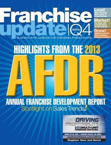Franchise Update Magazine - Issue IV, 2012 by Franchise