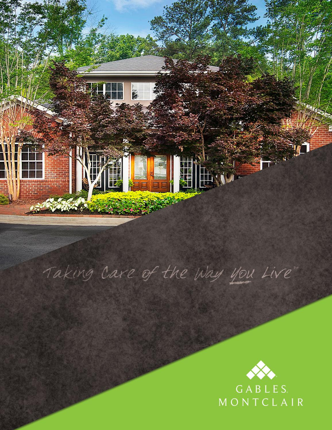 Gables Montclair Ebrochure By Gables Residential Issuu