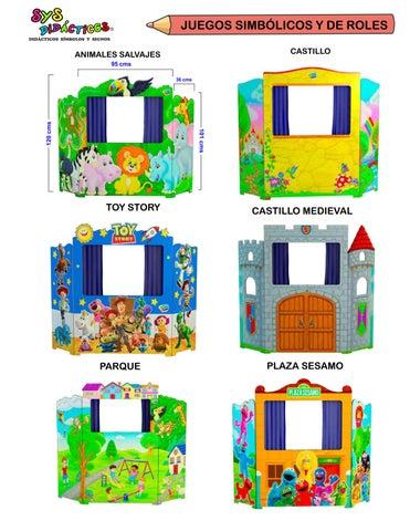 9 Juegos Simbólicos Y De Roles By Aymara Comercializadora Editorial