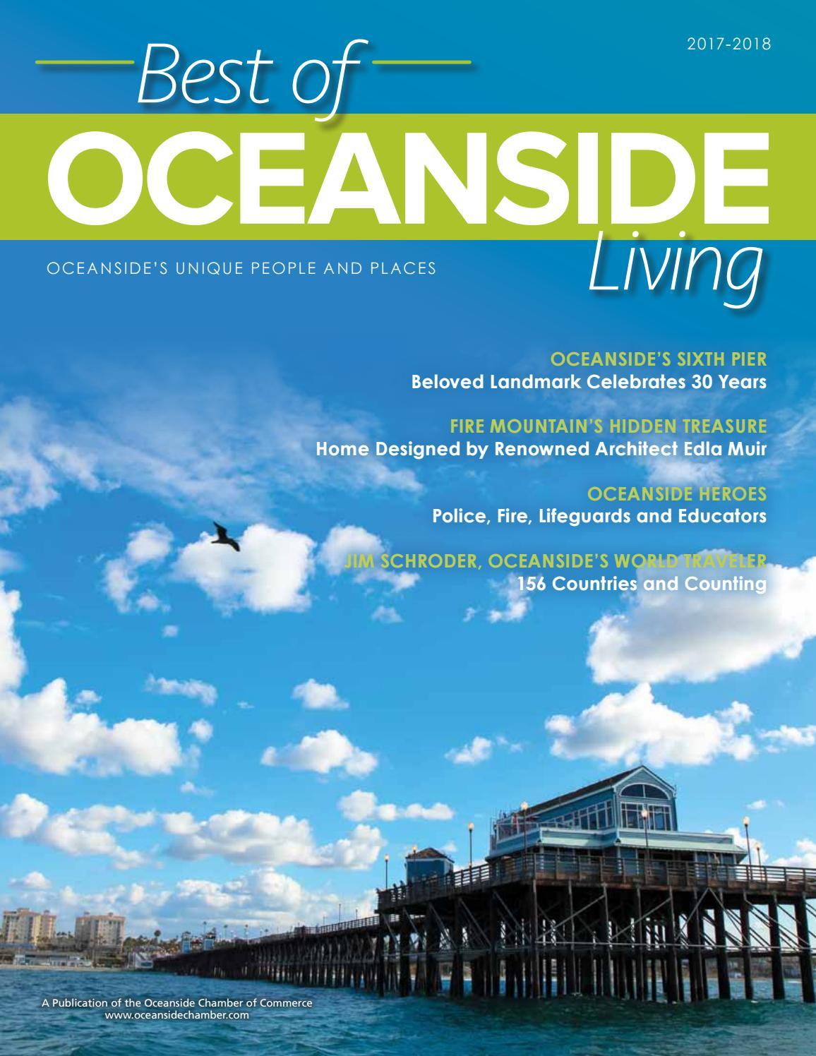 OCEANSIDE LIVING MAGAZINE, Best of OCEANSIDE Living, 2017-2018 by ...