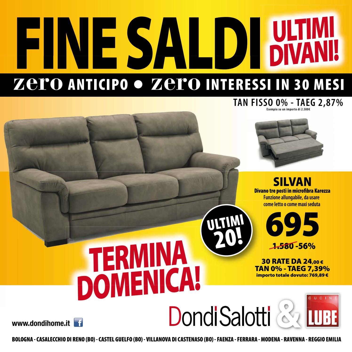 Dondi Salotti fine saldi by Michele Travagli - issuu