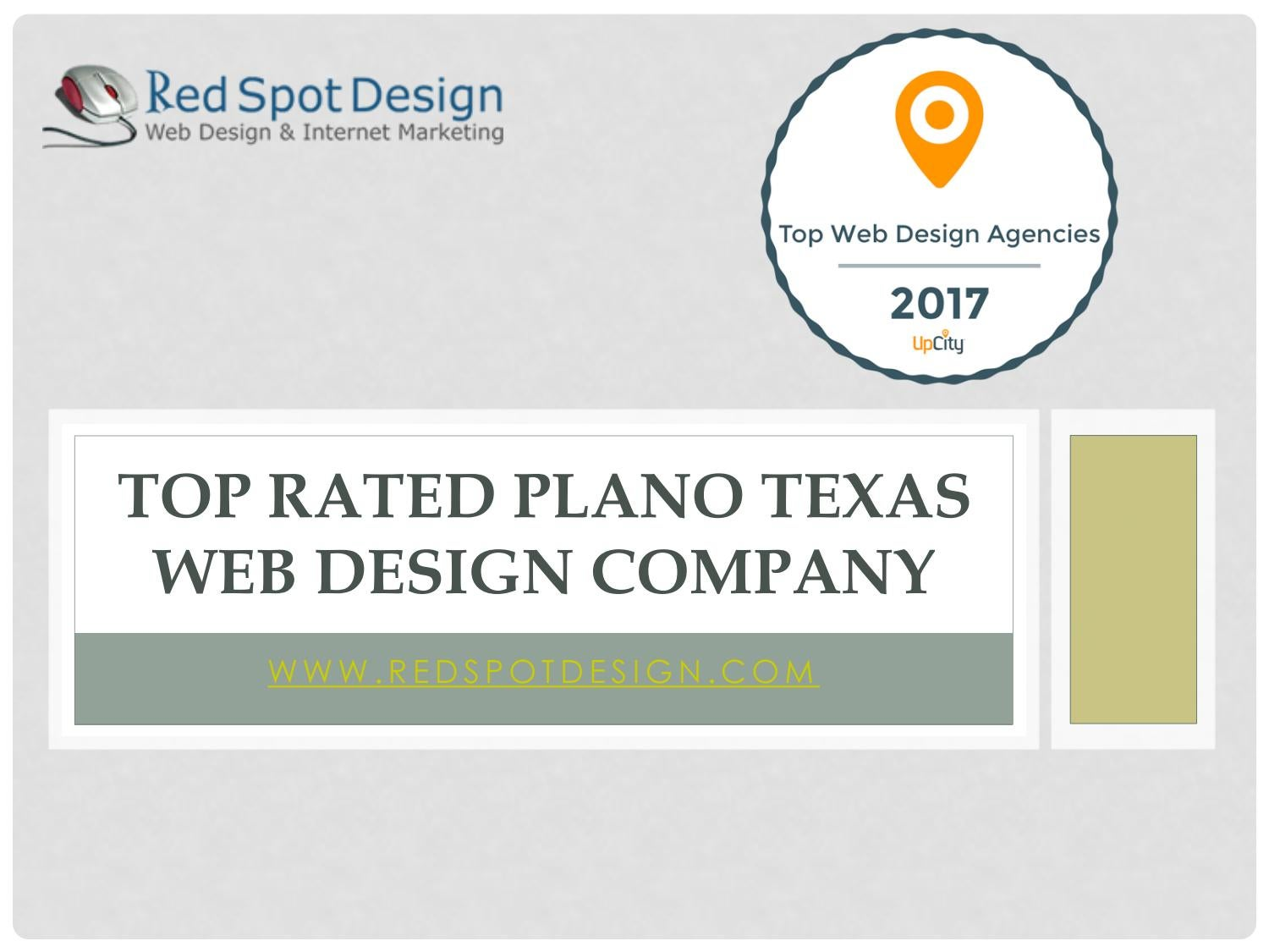 Top rated plano texas web design company